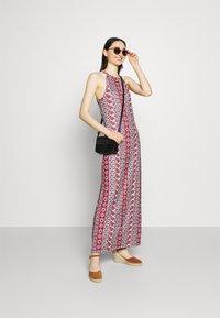 Vila - VISAILY FESTIVAL MEDI DRESS - Maxi dress - racing red/red - 1