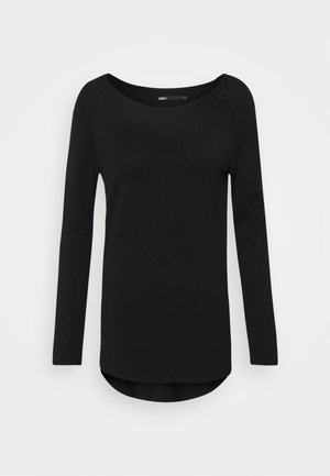ONLMILA LACY LONG - Jersey de punto - black