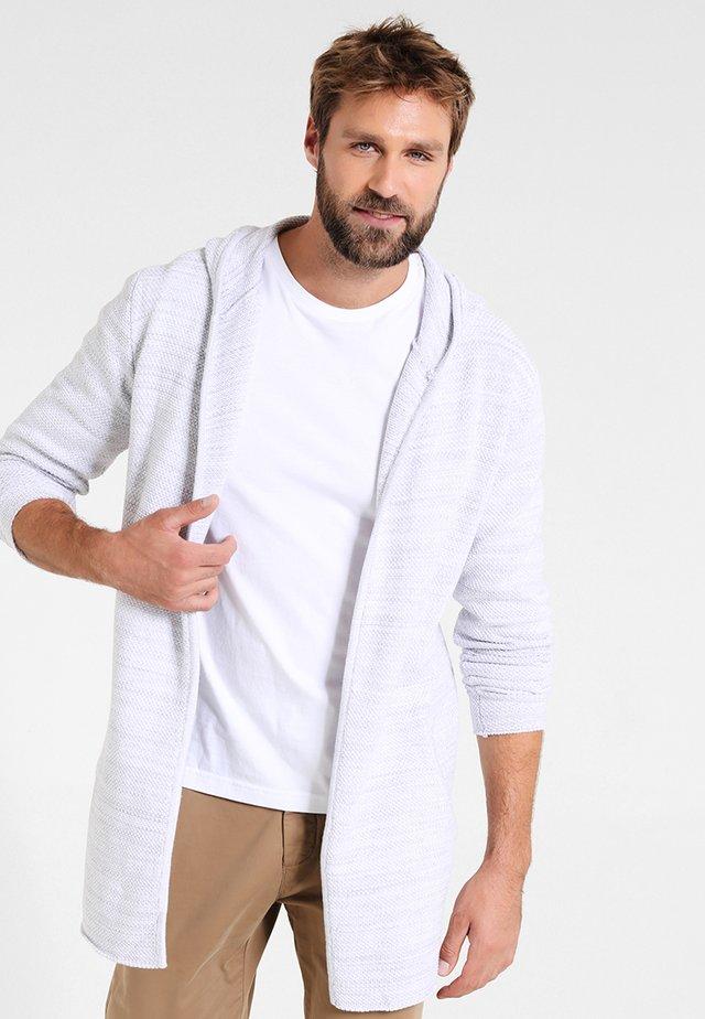 DENZEL - Strikjakke /Cardigans - optical white