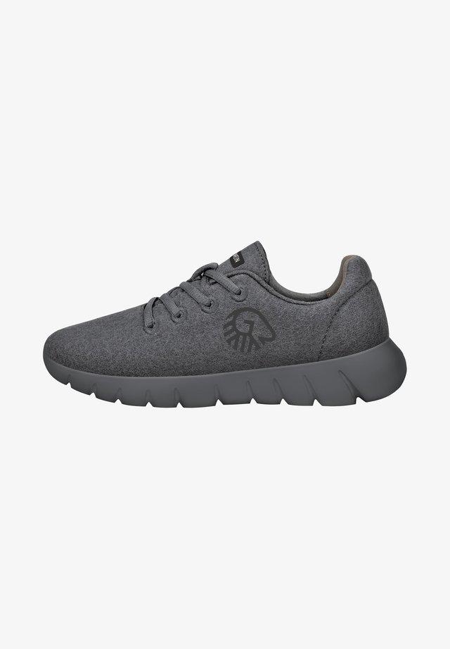 MERINO RUNNERS - Sneakers laag - dunkelgrau