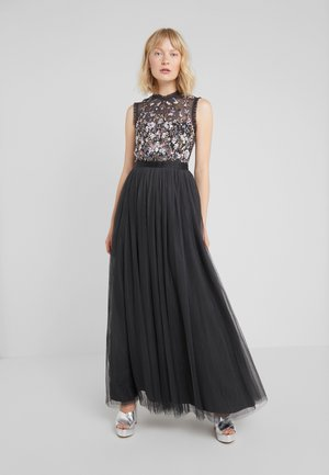 DARLING BODICE SLEEVELESS MAXI DRESS - Abito da sera - graphite