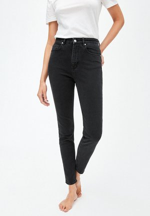 INGAA - Jeans Slim Fit - washed down black