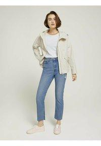 TOM TAILOR DENIM - Straight leg jeans - used mid stone blue denim - 1