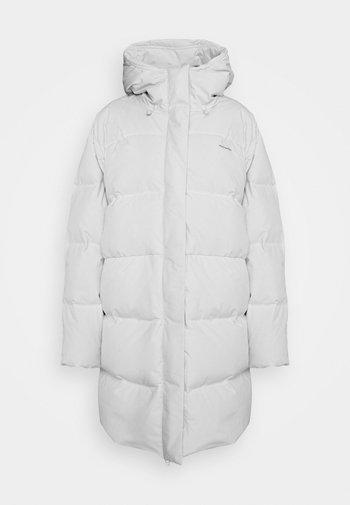 LOEN JACKET - Down coat - light grey