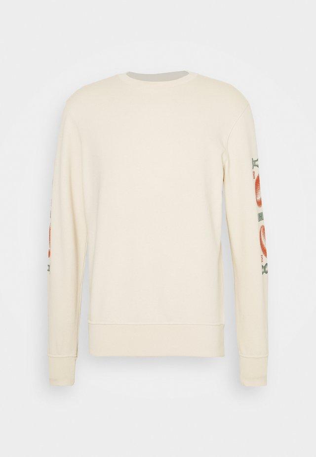 CORANZULI SLEEVE UNISEX  - Sweatshirt - natural