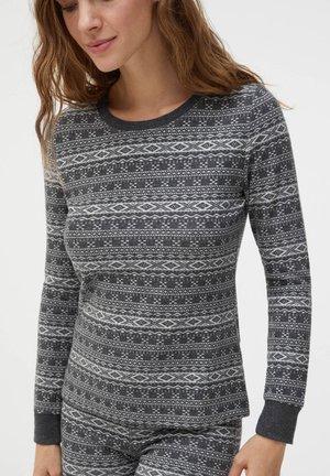 Haut de pyjama - dark grey