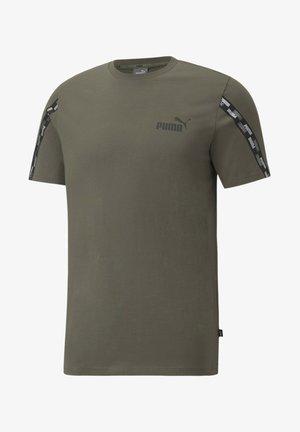 POWER MAND - T-shirt imprimé - grape leaf