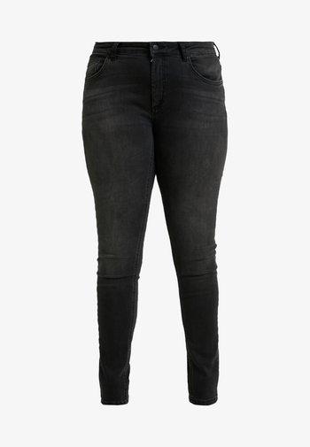 CARWILLY - Jeans Skinny Fit - black