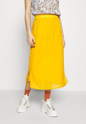 EVORINA - A-line skirt - sunflower