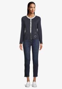 Betty Barclay - Zip-up sweatshirt - dunkelblau - 1