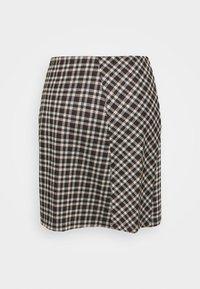 Pieces - PCSILVIA SKIRT - A-line skirt - mole/jadeite - 1
