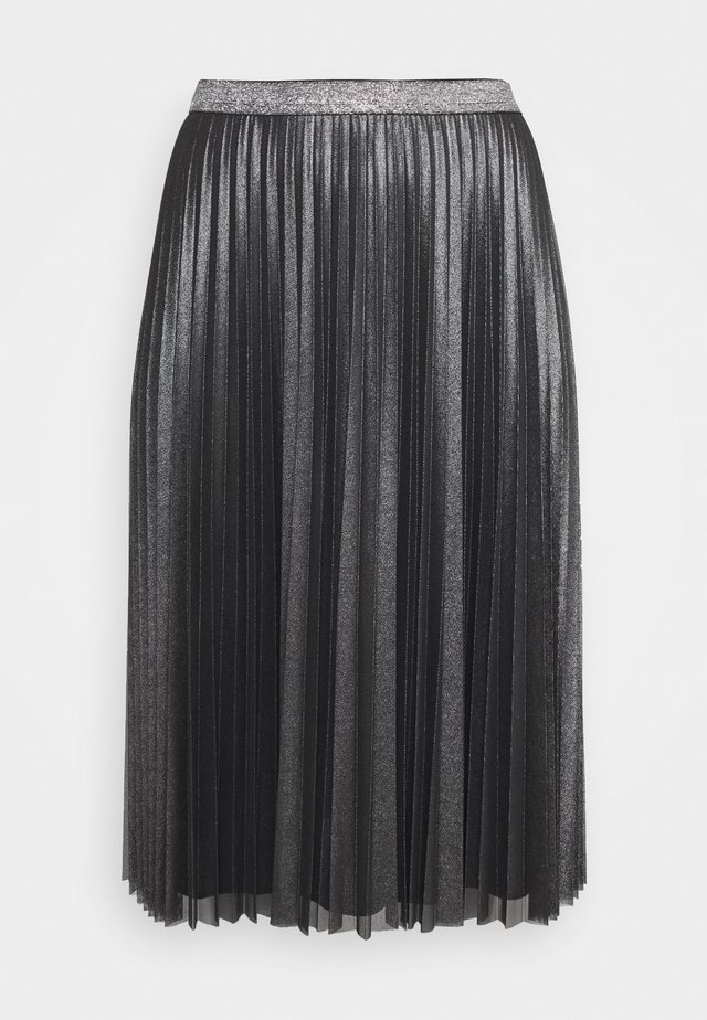 OVATTA - Pleated skirt - black