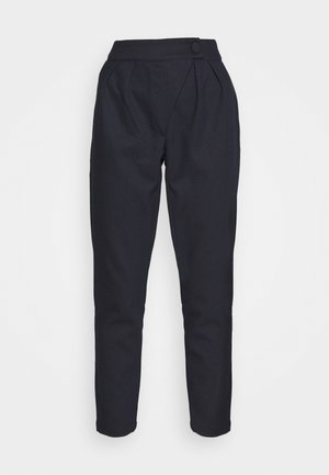 ALICIA TROUSER - Trousers - navy