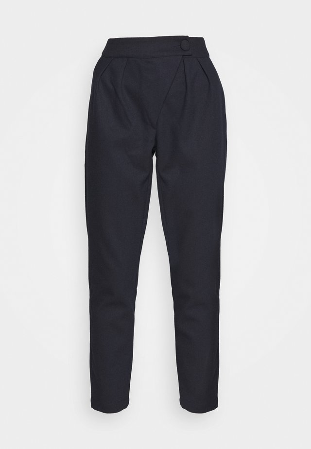 ALICIA TROUSER - Pantaloni - navy