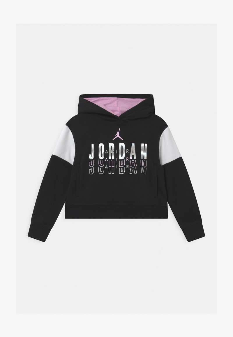 Jordan - HIGHLIGHTS BOXY - Hoodie - black