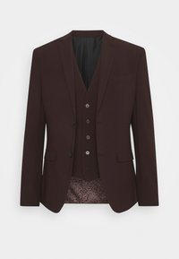 Isaac Dewhirst - THE FASHION SUIT 3 PIECE - Kostym - bordeaux - 23