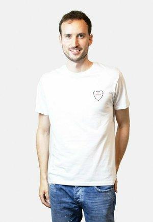 AMOUR - T-shirt print - white