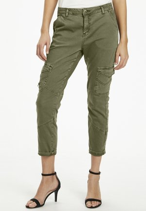 CUABIR  - Trousers - burnt olive