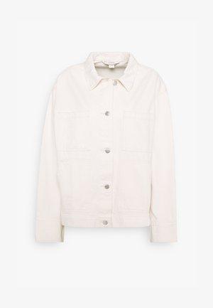 ROBYN JACKET - Denim jacket - white