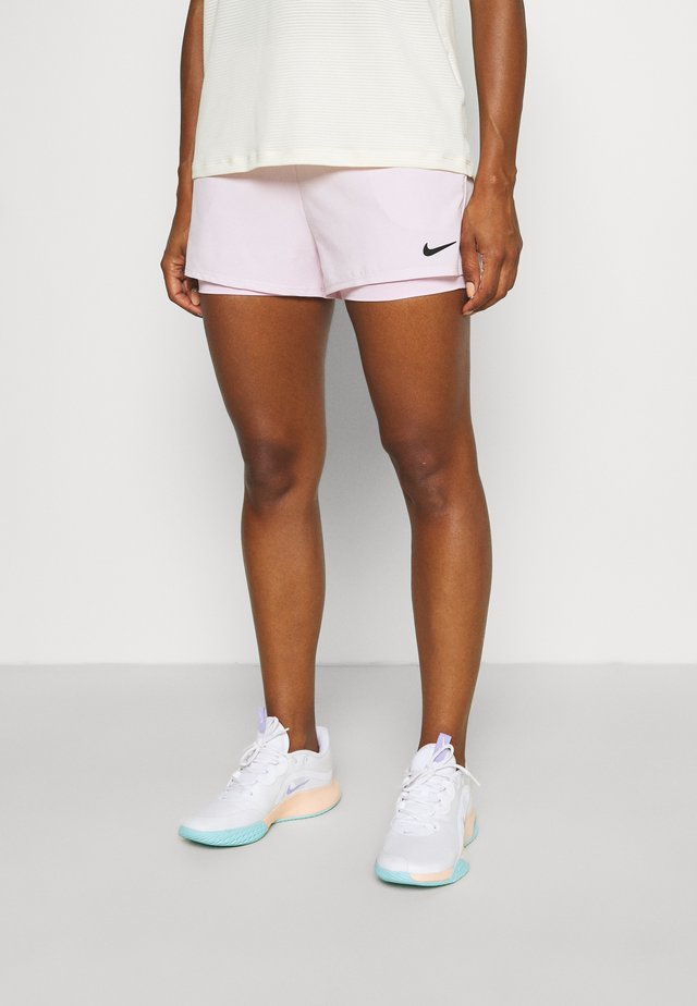 Sports shorts - regal pink/black