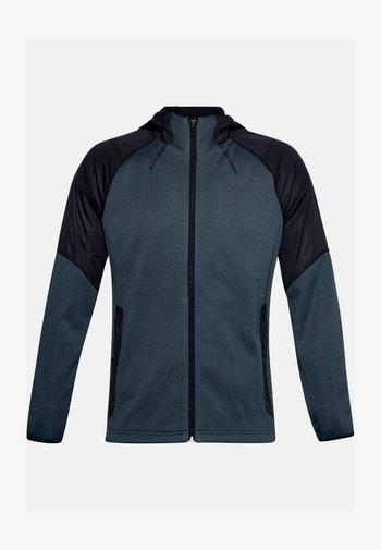 ESSENTIAL SWACKET - Zip-up hoodie - mechanic blue