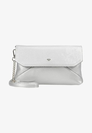 VITTORIA FLAPBAG - Across body bag - silver