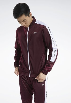TRAINING ESSENTIALS TRACK TOP - Træningsjakker - burgundy