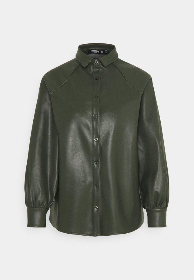RAGLAN SLEEVE - Overhemdblouse - khaki