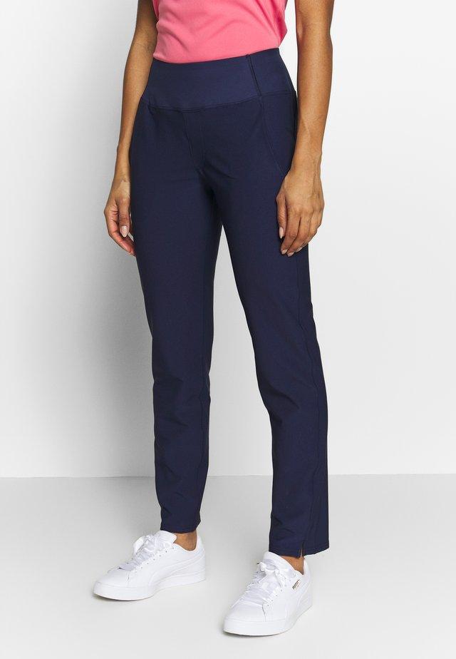 PANT - Trousers - peacoat