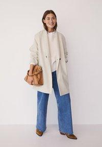 Mango - GALA - Classic coat - beige - 1