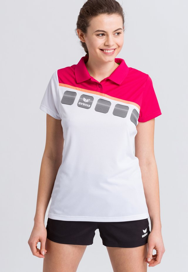 Sports shirt - white/pink