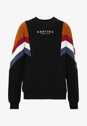 UNISEX CREW SEATTLE - veste en sweat zippée - black