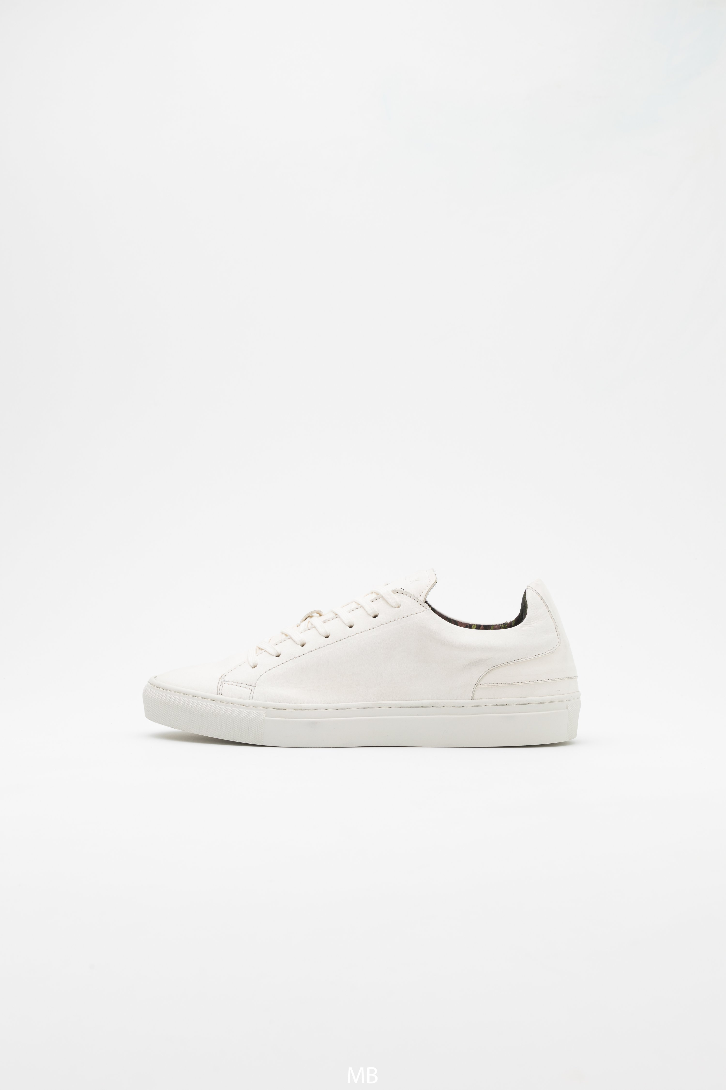 GRADUATE Sneakers nappa vegetal white