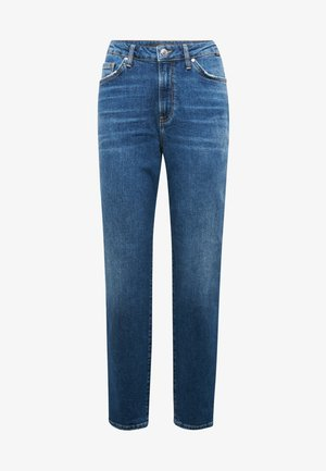 STELLA - Straight leg jeans - dark shaded all blue