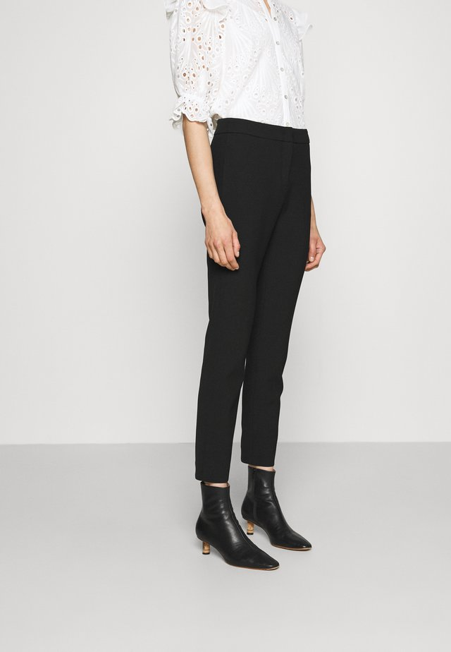 MELISSA - Spodnie materiałowe - black
