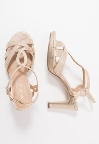Menbur - High heeled sandals - even rose - 3