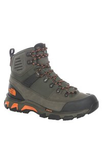 The North Face - M CRESTVALE FUTURELIGHT - Hiking shoes - new taupe green/tnf black - 1