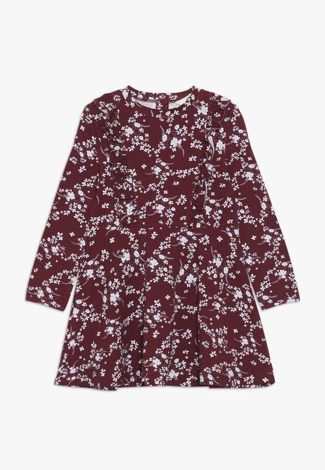 SADIE DRESS - Trikoomekko - dark red