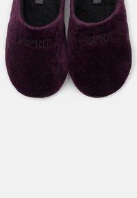 Esprit - BIRMINGHAM - Pantofole - berry purple - 5