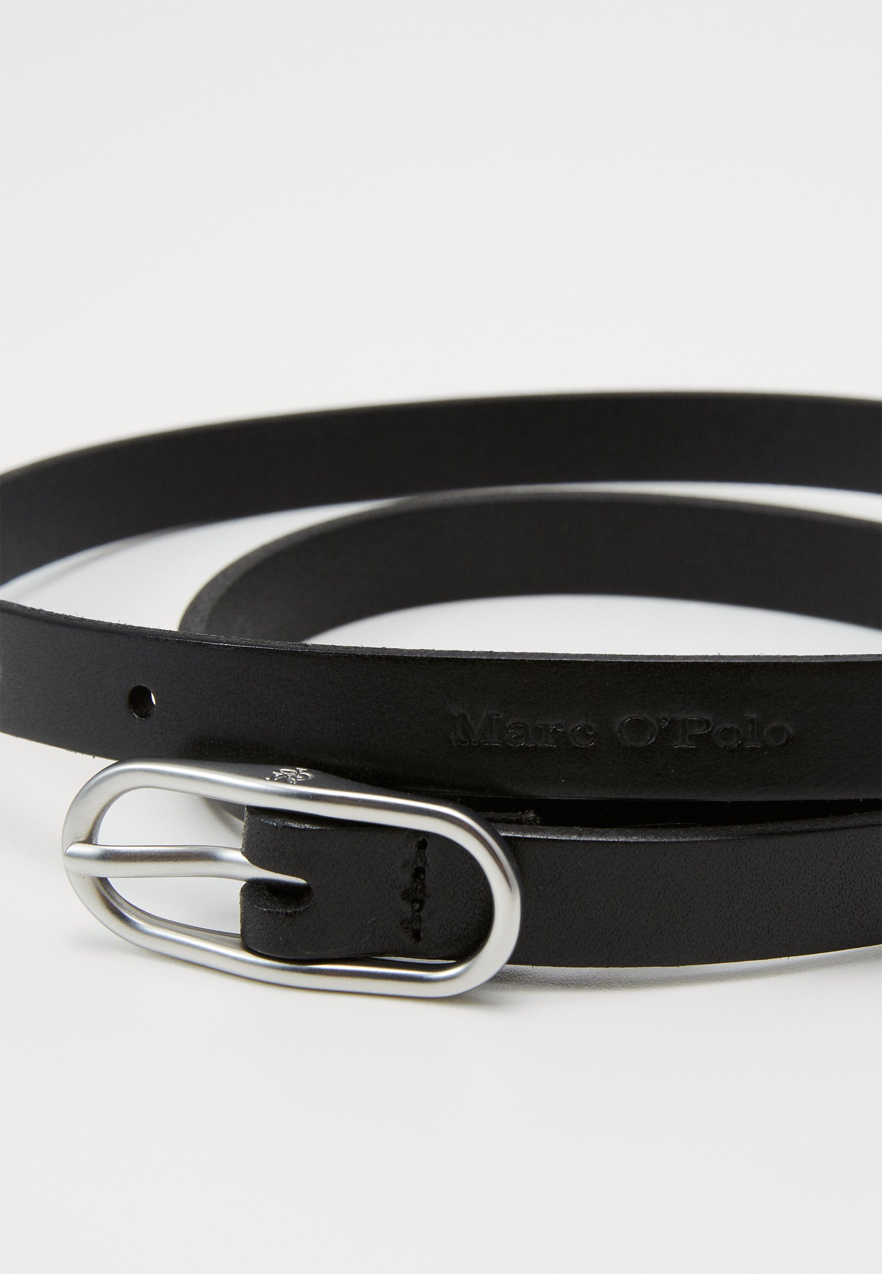 Marc O'Polo BELT LADIES - Belte - black/svart PoM8xj3BI0pZ3wv