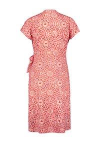 Gerry Weber - Day dress - rot/orange/ecru/weiss druck - 1