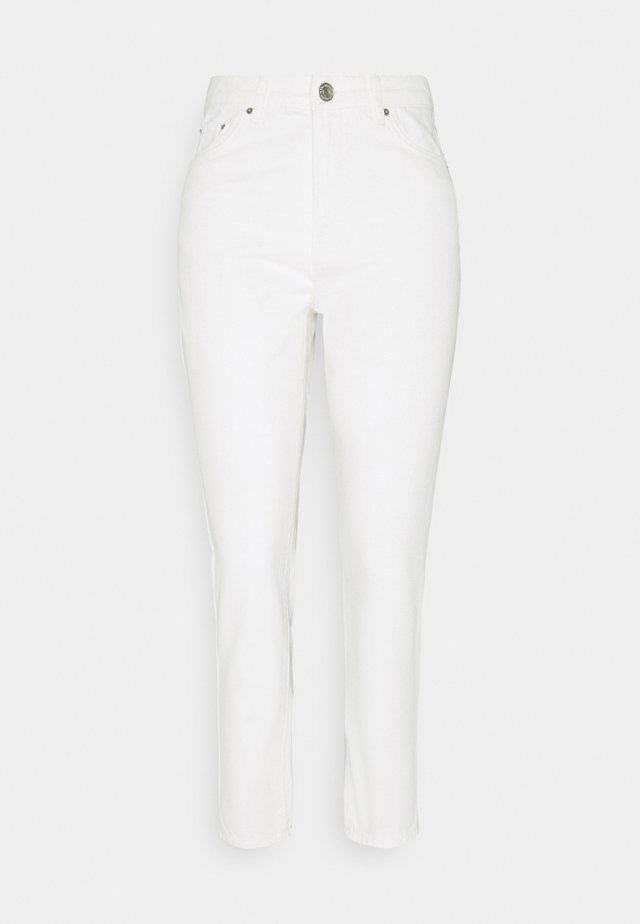 DAGNY MOM - Jeans baggy - white denim