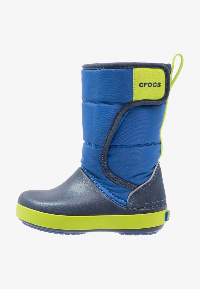 Crocs - LODGEPOINT BOOT RELAXED FIT - Boots - blue jean/navy