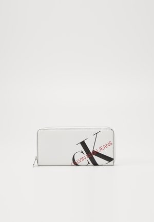 ZIP AROUND - Wallet - white