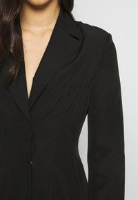 Nly by Nelly - FRILL SUIT DRESS - Shift dress - black - 4