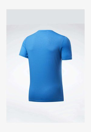 WORKOUT READY SUPREMIUM GRAPHIC TEE - T-shirt z nadrukiem - blue