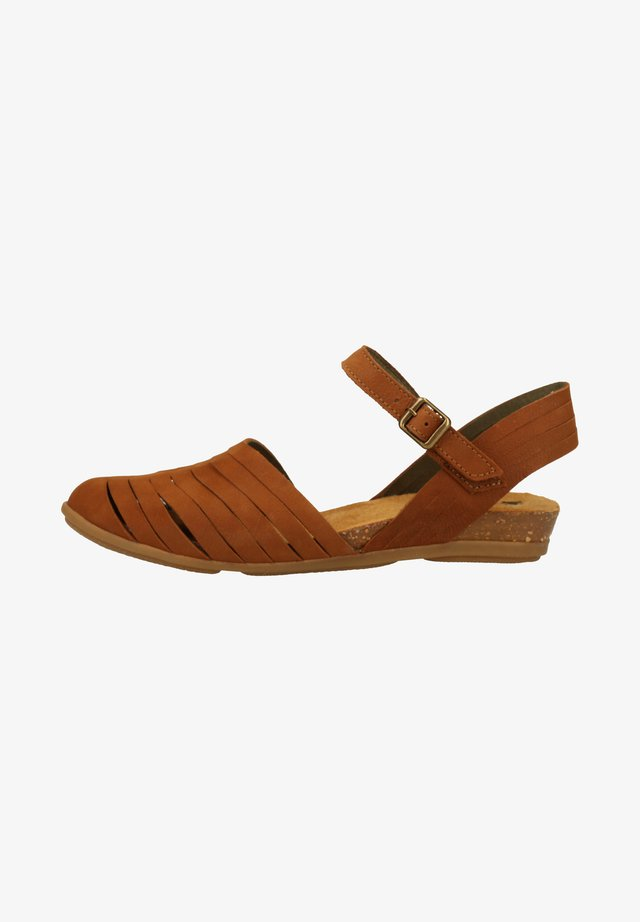 STELLA - Sandals - brown