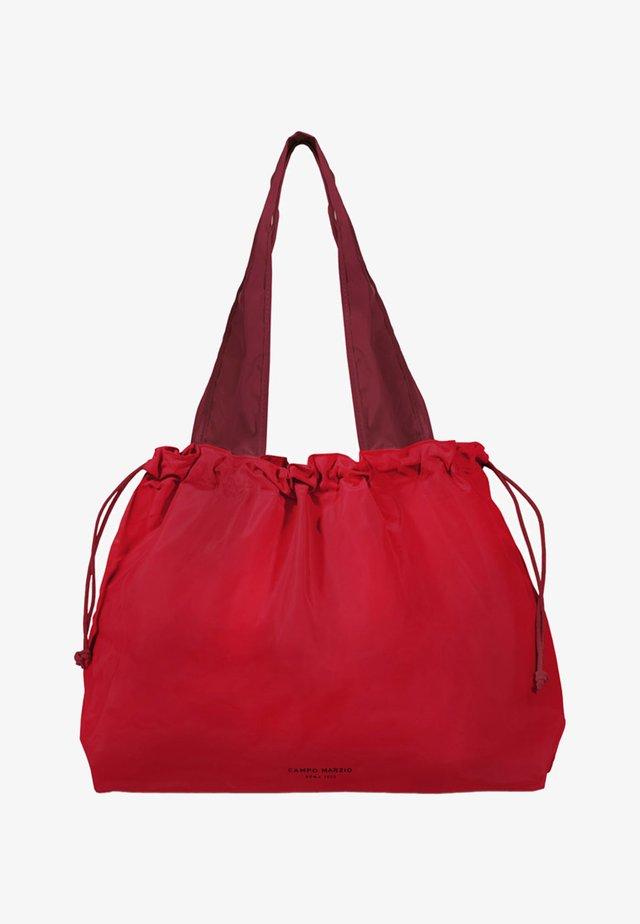 Tote bag - rosso ciliegia