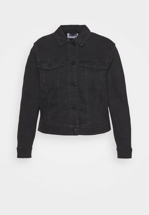 NMDEBRA JACKET - Denim jacket - black