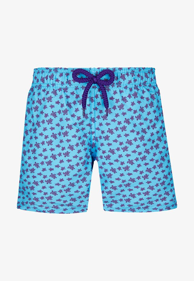MICRO RONDE DES TORTUES JAIPU - Swimming shorts - blue